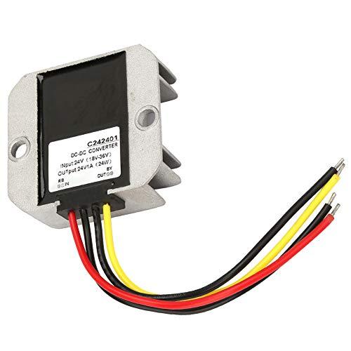 Rectificador regulador de voltaje, regulador de voltaje convertidor Buck, regulador de voltaje ajustable para ventilador de pantalla de coche(1A)