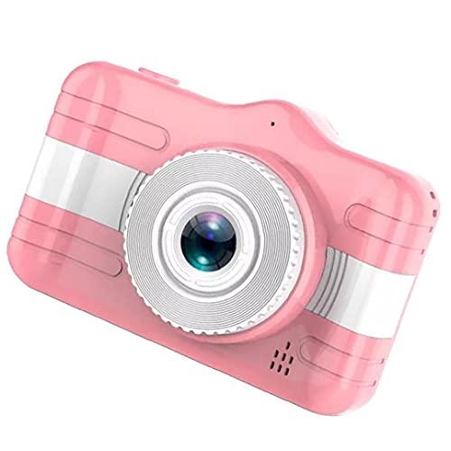 Tuimiyisou Infantil Pantalla Digital de la cámara de 3.5 Pulgadas cámara de vídeo HD 1080P niño de Dibujos Animados Lindo Regalo de Color Rosa