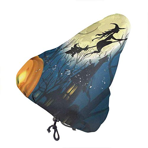 Bike Seat Cover Very Cute Giant Pandas Climbing Tree Waterproof Bicycle Seat Rain Cover with Drawstring, Sun/Water/Dust Resistant Bike Saddle Cushion Cover Protector Shield for Women/Men/Unisex