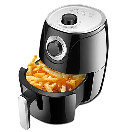 ZRXRY Heißluftfritteuse, 1000W Elektro-Heißluft-Friteusen Cooker für ölfreie Low Fat Kochen mit automatischen Timer und Temperaturregelung