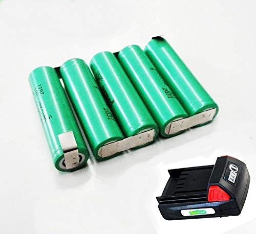 Preisvergleich Produktbild Tauschpack für Florabest Akku 18 V Accu Pack Mocca-LR32-250 mit 1, 5 Ah
