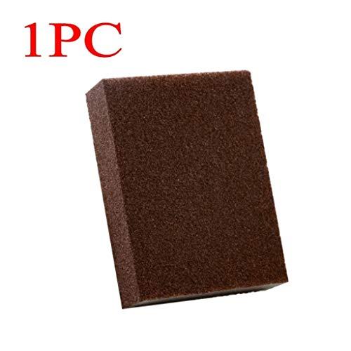 Heavy Duty Exfoliante Esponja, Herramienta de la Limpieza de la Cocina Esponja de algodón Inodoro Gadget descalcificación Limpio Rub Pot de usos múltiples Scrub Esponjas (Color : 1 pcs)
