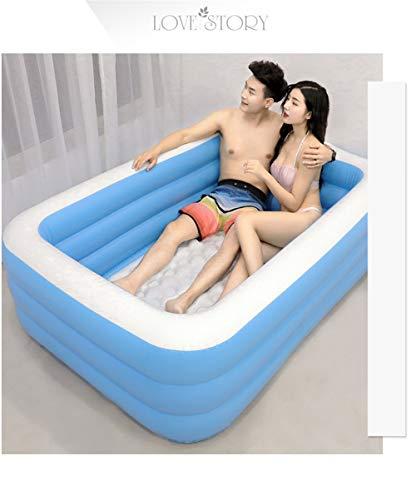 YQ&TL Swim Pool Spielzeug Schwimmbecken Outdoor Faltbare Badewanne Love Sex Erwachsene Aufblasbare Badewanne, Um Warmes Schwimmbad Schwimmbad Aufblasbare Pumpe Badewanne Spielzeug Zu Halten