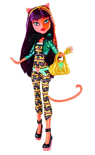 Monster High - Muñeca Fashion Toralei Stripe, (BJR39)