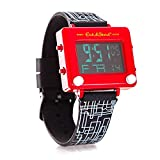 Mighty Mojo Etch A Sketch Digital Collectors Watch - Officially Licensed - Stainless Steel Watch - Pop Culture Retro 90's