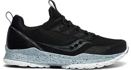 Saucony Men's Mad River TR Trail Running Shoe, Black, 10