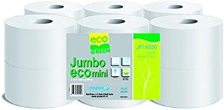 6 cm 25 cm Nucleo naturale Carta igienica Jumbo 2 lg Rec