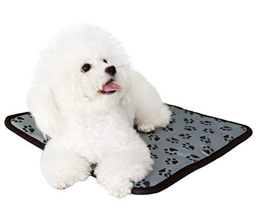 Sycreek Almohadilla térmica Mascotas gatos y perros, manta eléctrica para...