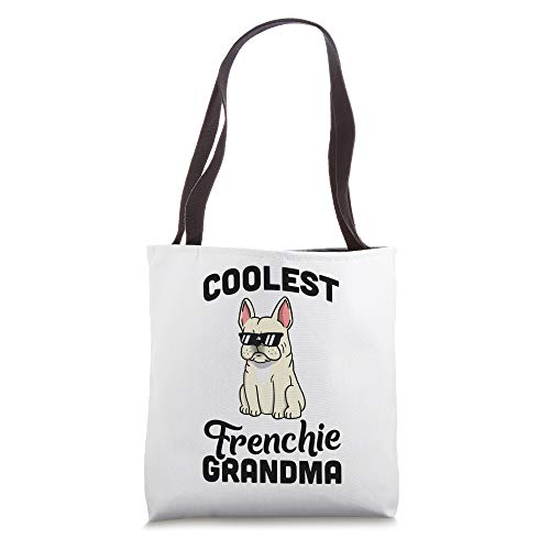 Coolest Cream French Bulldog Grandma Dog Tote Bag