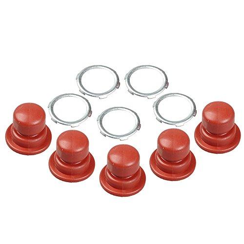 Hipa (Pack of 5 Primer Bulb for Tecumseh Engine LEV80 LEV90 LV148EA LV148XA LV156EA LV156XA LV195EA LV195XA LAV100 LAV115 LAV120 Lawn Mower