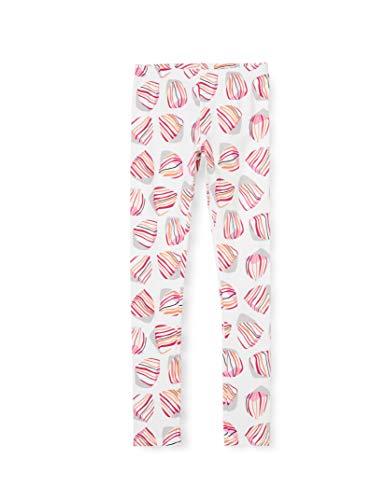 Catimini CQ24115 Legging Imprime, Blanc (Blanc 01), 18-24 Mo