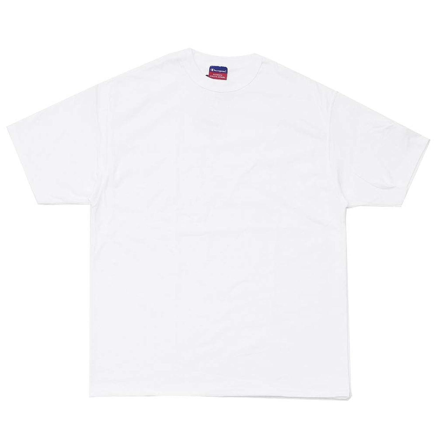 講義内部カロリー[Lサイズ] Champion (チャンピオン) 7oz HERITAGE JERSEY TEE [Tシャツ] WHITE 999-005069-040 [新品]