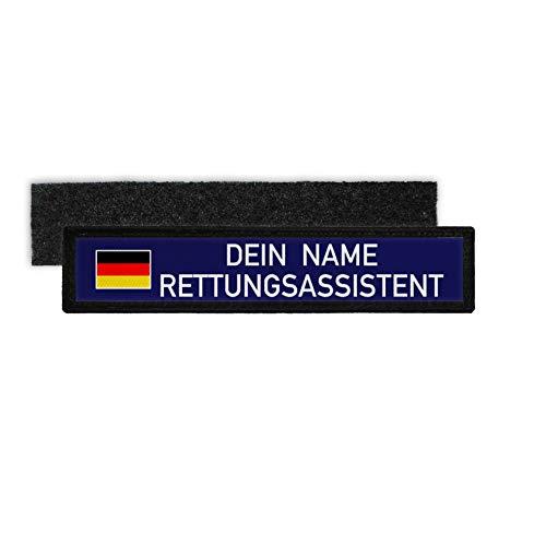 Copytec RETTUNGSASSISTENT Namen-Schild Patch Bundeswehr Sanitäter Notfall #32134