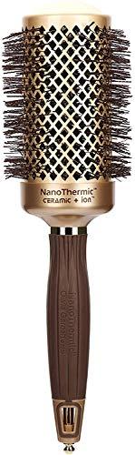 "Olivia Garden NanoThermic Ceramic + Ion Round Thermal Hair Brush NT-54 (2 1/8"")"