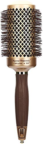 Olivia Garden NanoThermic Ceramic + Ion Round Thermal Hair Brush NT-54...