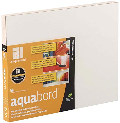 Ampersand Aquabord 8x10 - Uncradled 1/8