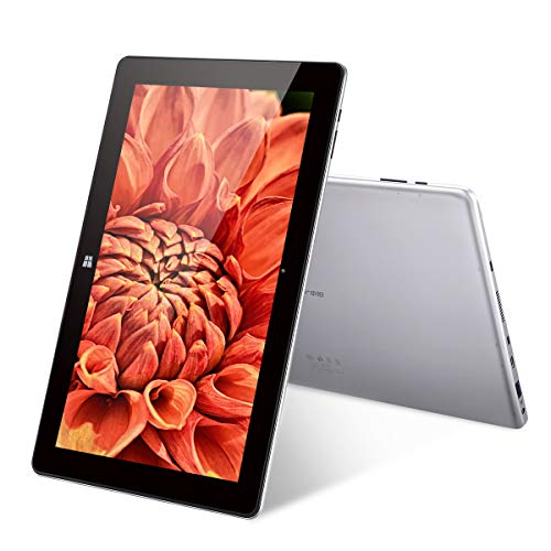 Jumper EZpad 6S Pro - 11.6 Zoll Windows 10 Tablet PC (Intel Apollo Lake N3450 Quad Core, 6GB DDR3L RAM 128GB SSD, 1920 * 1080 Pixel, 9000mAh, HDMI, BT 4.0) Silber