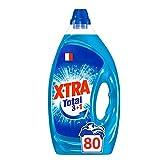 X•TRA Total+ – Lessive Liquide – 80 Lavages (4L)