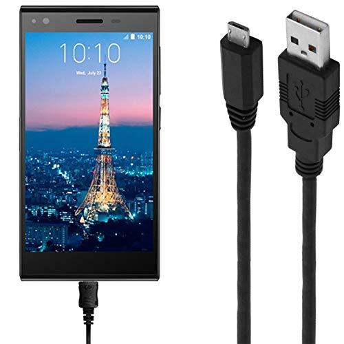 ASSMANN Ladekabel/Datenkabel kompatibel für ZTE Blade Vec 3G - schwarz - 1m