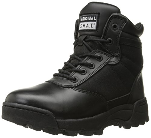 "Original S.W.A.T. Men's Classic 6"" Side-Zip Military & Tactical Boot, Black, 10.5 2E US"