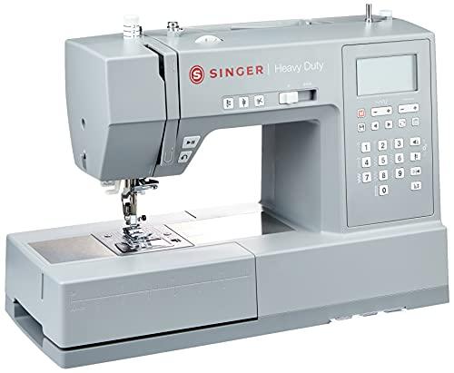 Máquina de Costura Eletrônica Heavy Duty HD6805- Singer