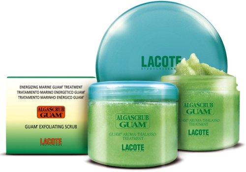 Guam Algascrub - Exfoliante corporal de algas (700 g, bote con algas marinas de sal, extractos de plantas y aceites valiosos para una piel sana, hermosa y tersa.