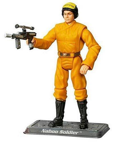 Hasbro Figura de accion de Naboo Solider de Star Wars Saga Collection #050