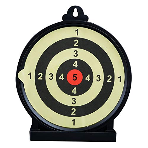 Aoutacc Airsoft Sticky Target, 6' Round Self Adhesive Shooting Targets with Scoring Rings