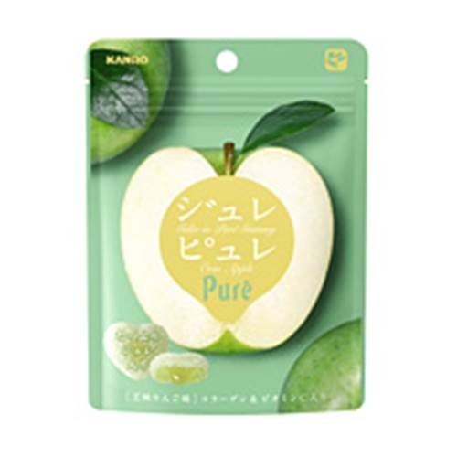 カンロ ジュレピュレ 王林りんご 63g×2袋