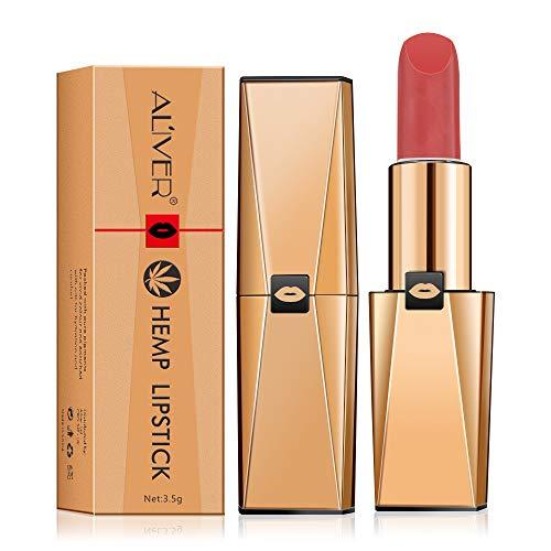 Kosmetik Lippenstift Feuchtigkeitscreme Glatter Lippenstift Wasserdichte, dauerhafte Antihaft-Tasse...