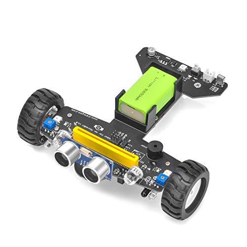 OSOYOO Photon Kit de nettoyage pour Robot Avec Micro : bit Board Start to Learn Graphical Programming | Early Stem Education pour Les débutants et Les Enfants | Improve la logique Des Enfants