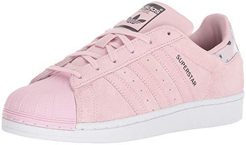 adidas Originals Superstar, Zapatillas Niños, Rosa Transparente, Rosa y Blanco, 16 EU