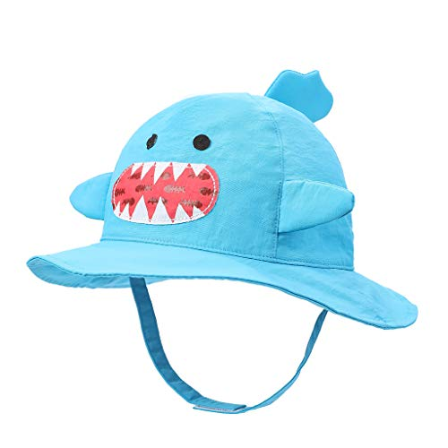 Sunnymi - Sombrero para bebé (UPF 50+) azul claro 5-7 años