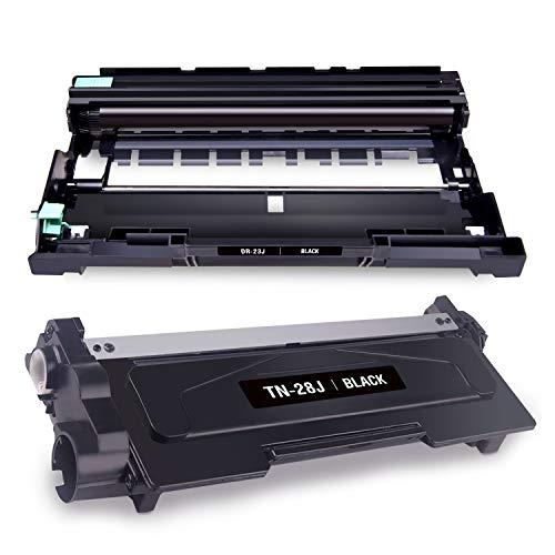【Mytoner】ブラザー(Brother) TN-28J+DR-23J 互換トナーカートリッジ 互換ドラムユニット 2本セット 対応機種:DCP-L2540DW/ DCP-L2520D/ MFC-L2720DN/ FAX-L2700DN