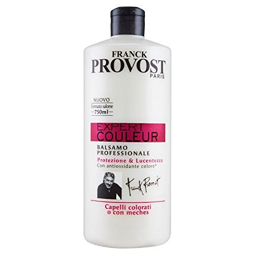 Franck Provost Expert Couleur - Acondicionador profesional para cabello teñido o con mechas, 750 ml