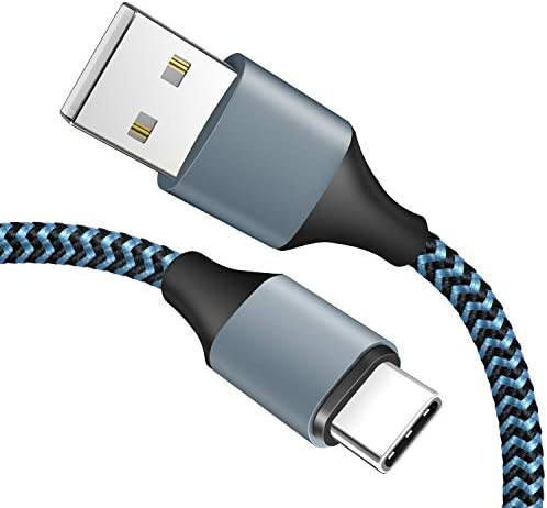 Amoner USB Type C Cable Braided USB C to USB A Charger 3 Pack 3 Ft with Reversible Connector product image