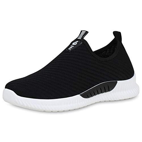 SCARPE VITA Zapatillas deportivas para mujer con suela de punto, color Negro, talla 41 EU