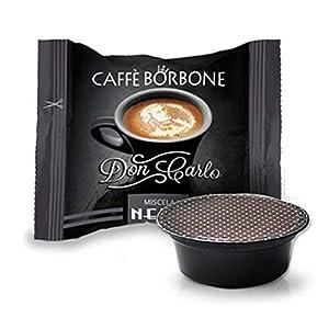 200 Capsule Compatibili Lavazza a Modo Mio Caffe' Borbone Don Carlo Miscela Nera 11