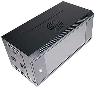 "4RU 19 Inch 300mm Deep Wall Mount Cabinet Server Rack Data Network Comms 4U 19"""