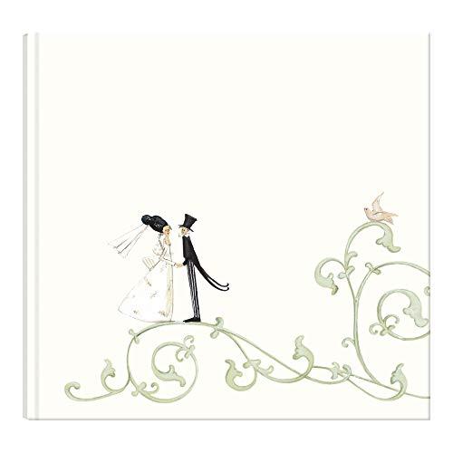 Gästebuch Hochzeit Creme, Edel   Vintage Hochzeitsgästebuch zur Erinnerung   Gästebuch Hochzeit...
