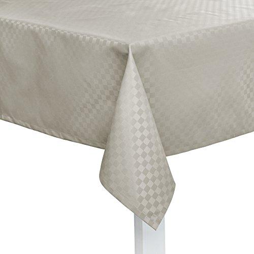 Pichler CASA abwischbare Tischdecke nach Maß silber (Stoffmuster)