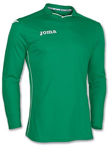 Joma 100005.450 - Camiseta de equipación de Manga Larga para Mujer, Color Verde, Talla 4XS-3XS