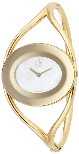 Calvin Klein Reloj Analógico para Mujer de Cuarzo con Correa en Acero Inoxidable K1A2391G