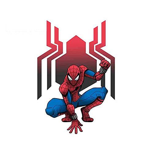 Drôle Auto-Aufkleber für Marvel Spider man Venom Graphiques Sticker Laptop JDM RV Car Wrap die längste Seite ist 13 cm