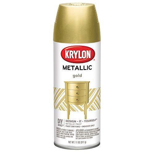 KRYLON DIVERSIFIED BRANDS K01706 Krylon Spray Paint, Gold