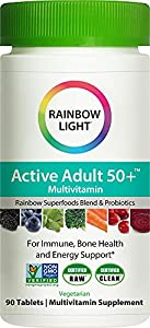 Rainbow Light Complete B-Complex - 90 Tablets. 24 servings per container. Absorption enhancing formula. Energizing superfoods & herbs. Health and personal care Nutrition & wellness