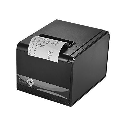 gp-80250i Imprimante thermique 250mm/s 80mm largeur 3inch Porte USB Ethernet Serial pour tiroir porte ordinateur POS