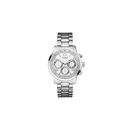 GUESS dames zilveren armband horloge