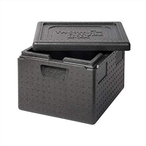 Thermo Future Box GN 1/2 Thermobox Kühlbox, Transportbox Warmhaltebox und Isolierbox mit Deckel,19 Liter Thermobox,Thermobox aus EPP (expandiertes Polypropylen)