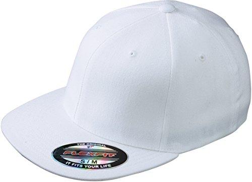 Myrtle Beach Flexfit® Flatpeak Cap Large / X-Large,White [Misc.] Large / X-Large,White
